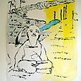 tomorow-oil on paper,'05