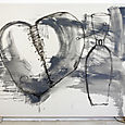 broken heart,gloss on canvas,182x242cm,'07