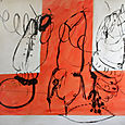 Three stages-gloss on canvas,'07