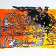 tangerine tank-gloss on paper153x243cm'04