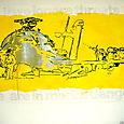 MORTAL DANGER-gloss on paper,150x240cm'03