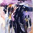 penetration,oil on canvas,254x200cm
