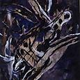 nightburial,oil on canvas,190x173cm