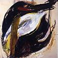 convulsion,oil on canvas,190x173cm