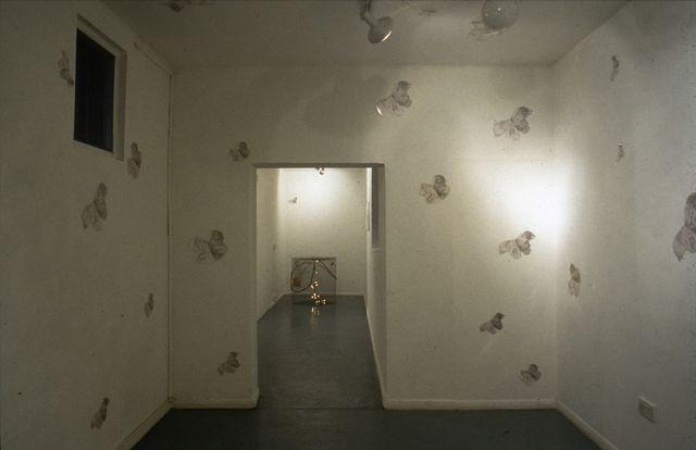 Flightpath-butterfly room,+cage,installatioshot'97
