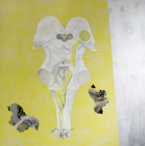medulla 2a,acrylic on canvas,182x182cm,'98