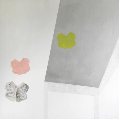 Remission1-acrylic+acetate on canvas,1503x153cm ,'96