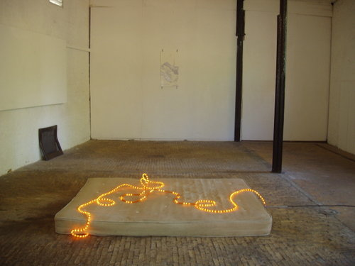 TAIL TALES, site specific installation at Stables Gallery,London'04