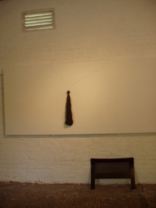 TAIL TALES, site specific installation at Stables Gallery, London '05