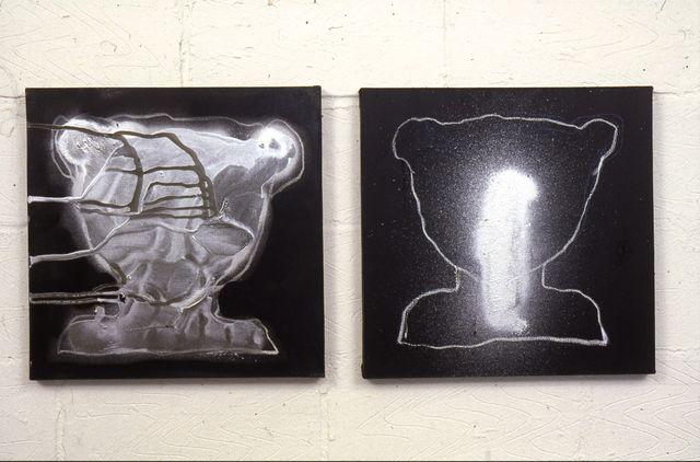holy spirit, glossl on canvas,each50x50cm each'01
