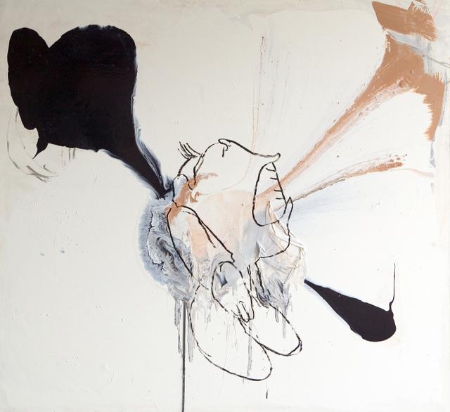 the Scream- gloss on canvas,173x188cm,'07
