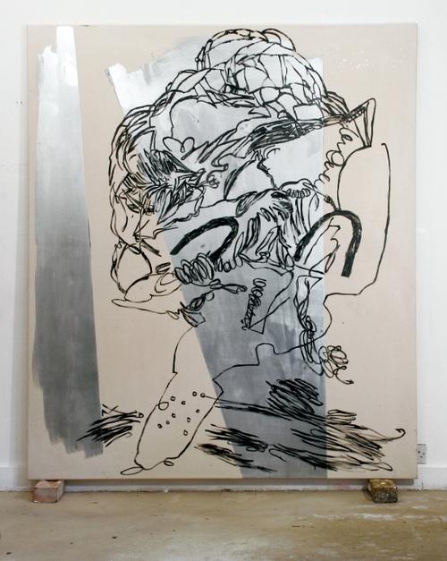 lier-gloss on canvas242x182cm,07