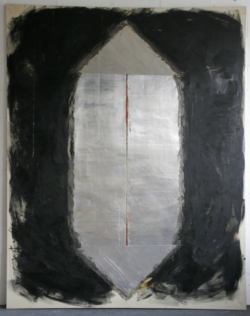 aftermath-254x203cm,oil alluminiumen encaustic