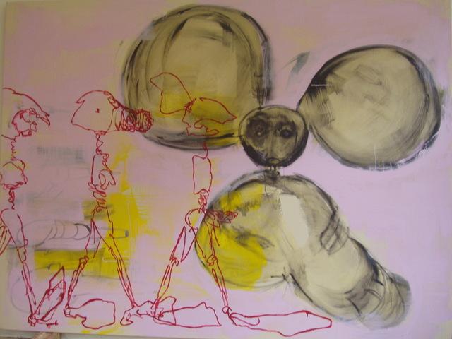 mickey,gloss on canvas,183x243cm'05